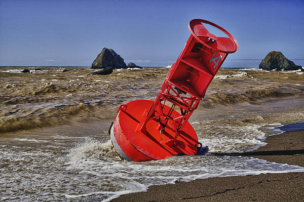 Bell Buoy Photograph - Bell Buoy by Garry Gay