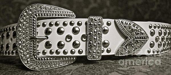 Belt Photograph - Belt Bling by Gwyn Newcombe