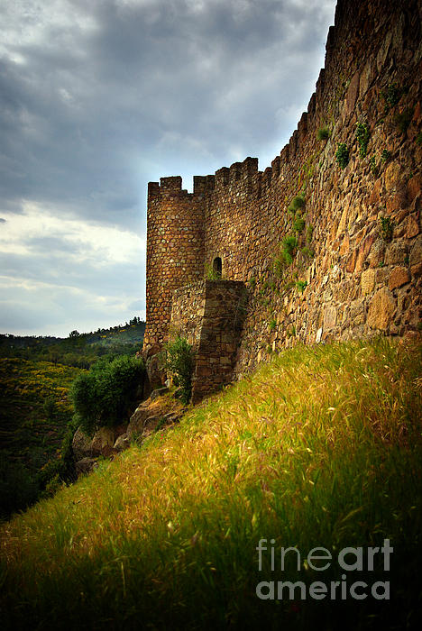 Ages Photograph - Belver Castle by Carlos Caetano