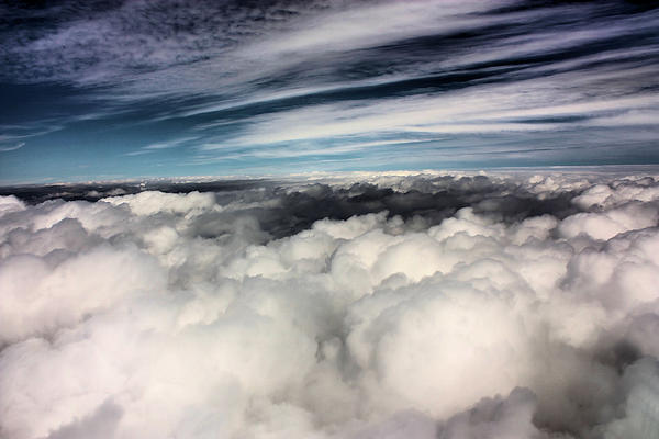 Clouds Photograph - Between Heaven And A Soft Place by Kristin Elmquist