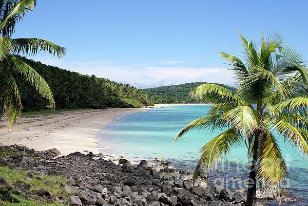 Nicaragua Photograph - Big Corn Island Beach Nicaragua by John  Mitchell