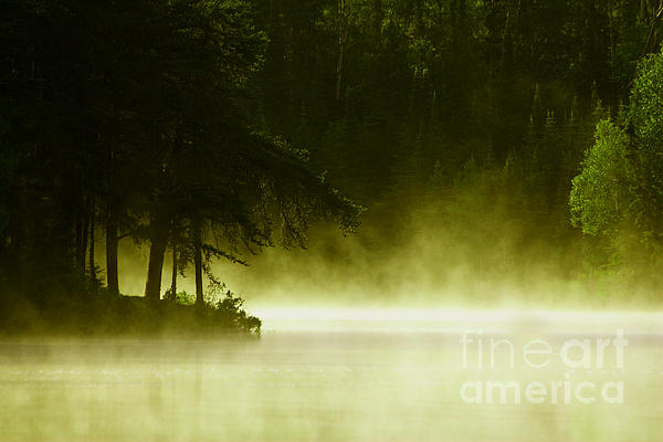 Lake Photograph - Biscotasing by Marjorie Imbeau