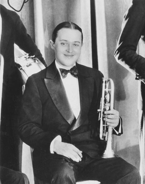 1920s Fashion Photograph - Bix Beiderbecke, At The Club New by Everett