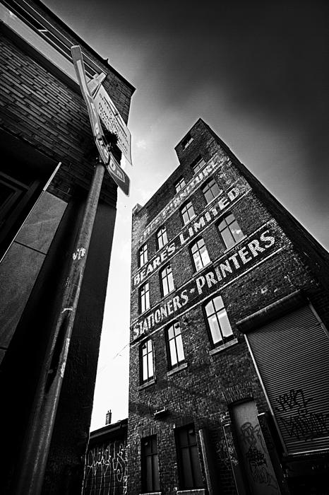 Architecture Photograph - .block Print... by Russell Styles