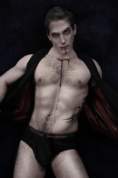 Vampire Digital Art - Blood Feast by John Clum