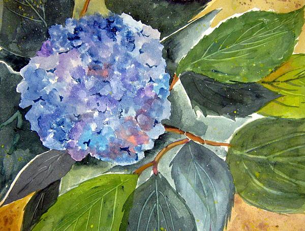 Flower Painting - Blue Flower by John Smeulders