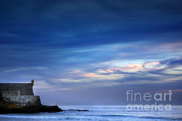 Angler Photograph - Blue Storm by Carlos Caetano