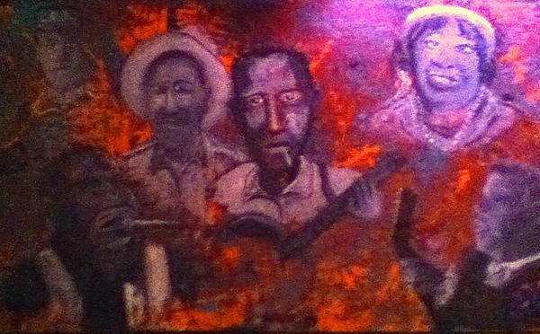 Robert Johnson Painting - Blues Origin by Richard  Hubal