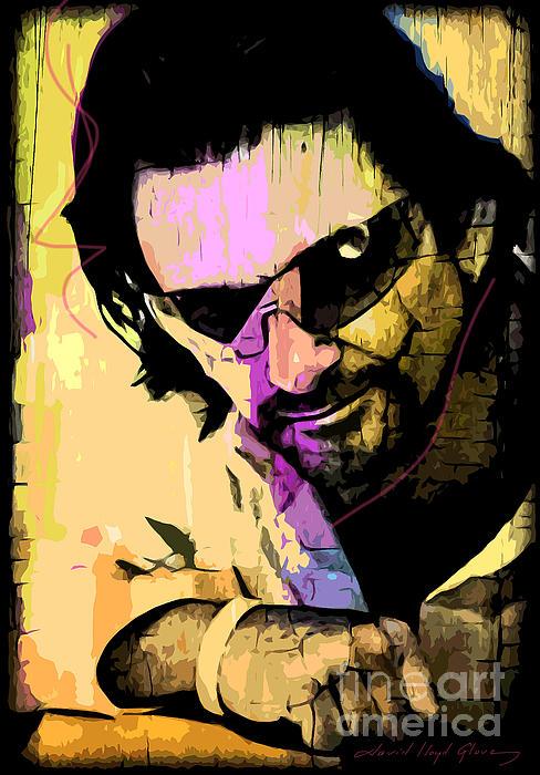 Bono Painting - Bono by David Lloyd Glover