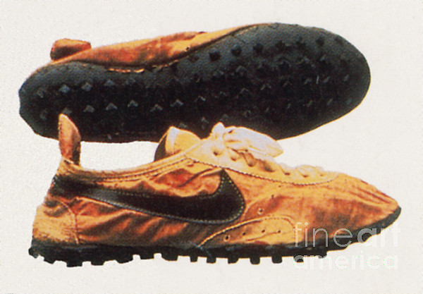 History Photograph - Bowermans Waffle Sole Design by Photo Researchers
