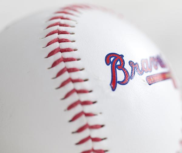 Braves Photograph - Braves Baseball by Malania Hammer