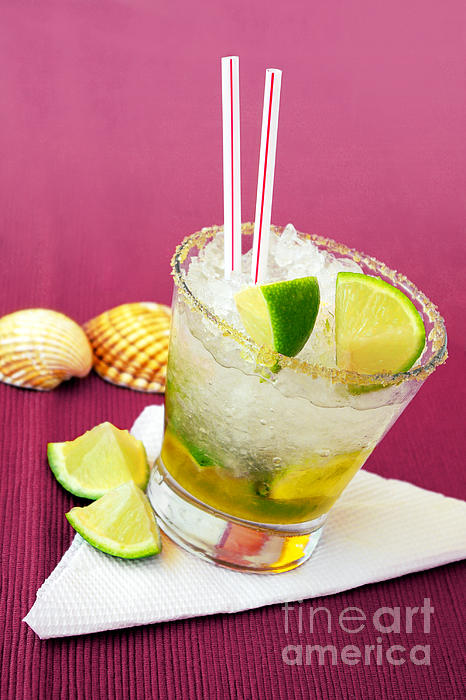 Alcohol Photograph - Brazilian Cocktail by Carlos Caetano