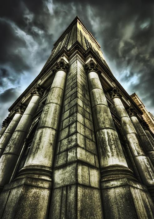 City Hall Photograph - Break On Through by Evelina Kremsdorf
