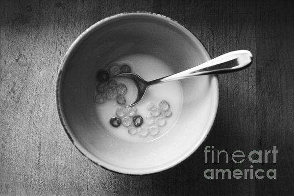 Cereal Mixed Media - Breakfast by Linda Woods