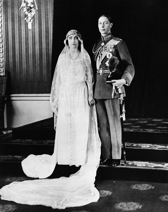 1920s Photograph - British Royalty. British Lady Elizabeth by Everett