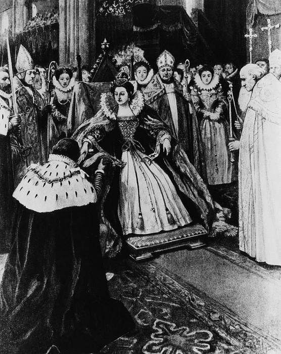 1550s Photograph - British Royalty. Queen Elizabeth I by Everett