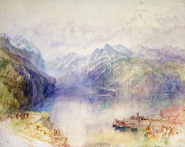 Brunnen Painting - Brunnen  by Joseph Mallord William Turner