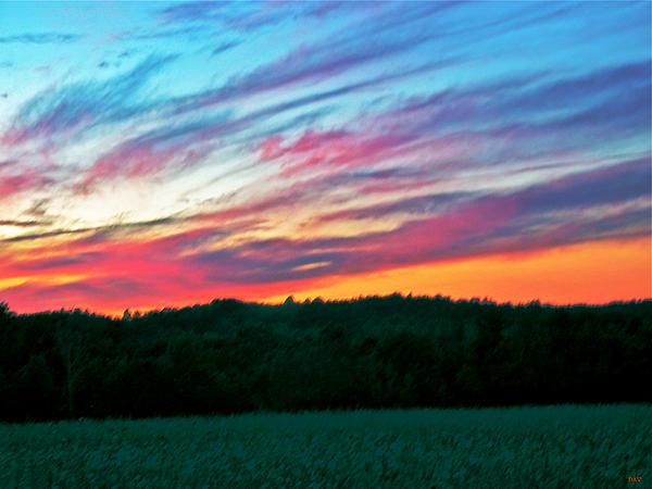 Cloud Photograph - Brush Marks Of Nature by Debra     Vatalaro