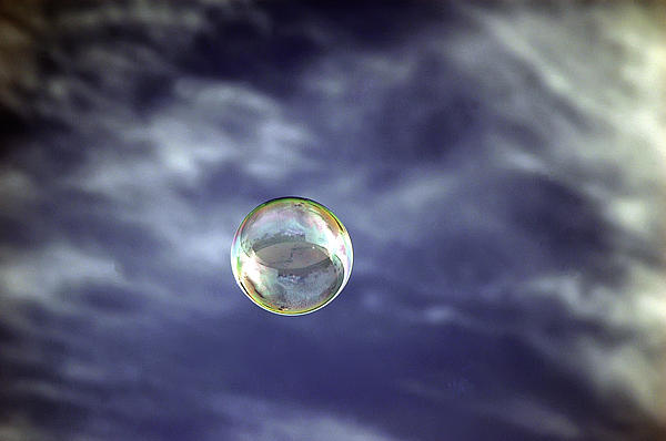 Hawaii Photograph - Bubble Self Portrait by Dan McManus