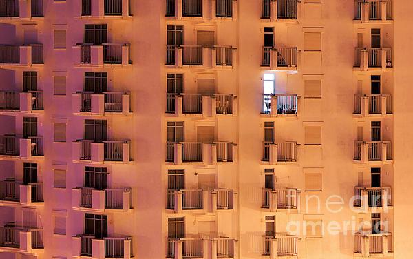Apartment Photograph - Building Facade by Carlos Caetano