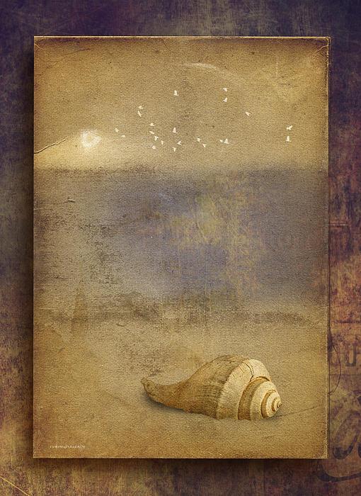 Digital Art Digital Art - By The Sea by Ron Jones