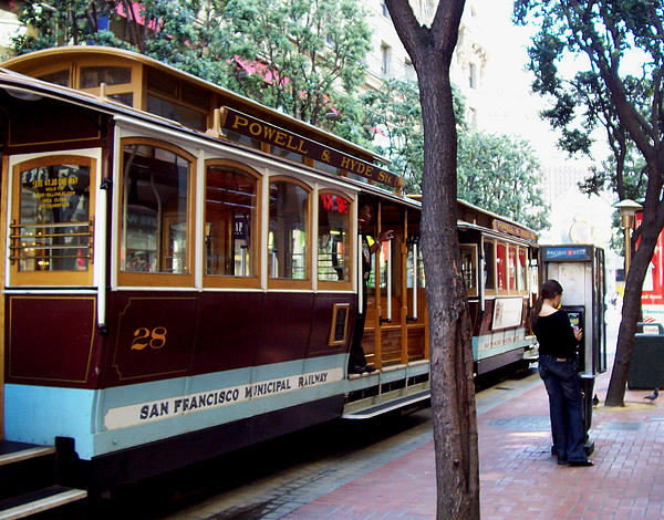 San Francisco Photograph - Calling For A Ride by Dennis Jones