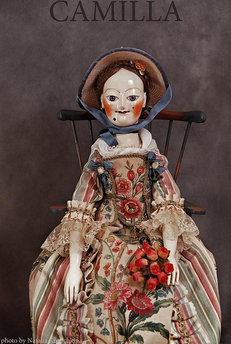 Art Doll Sculpture - Camilla by Vita Soyka