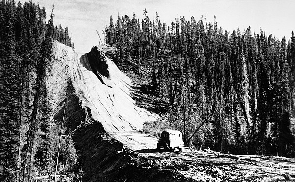 1942 Photograph - Canada: Alaska Highway by Granger