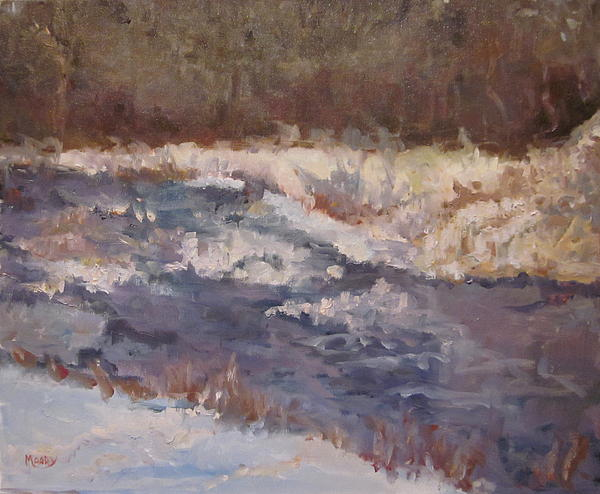 Landscape Painting - Canadian River by Brent Moody