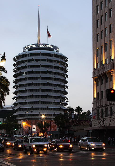 Capitol Records Photograph - Capitol Records by Viktor Savchenko