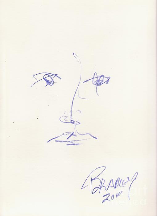 Costa Rica Drawing - Cara 11 by Bradley