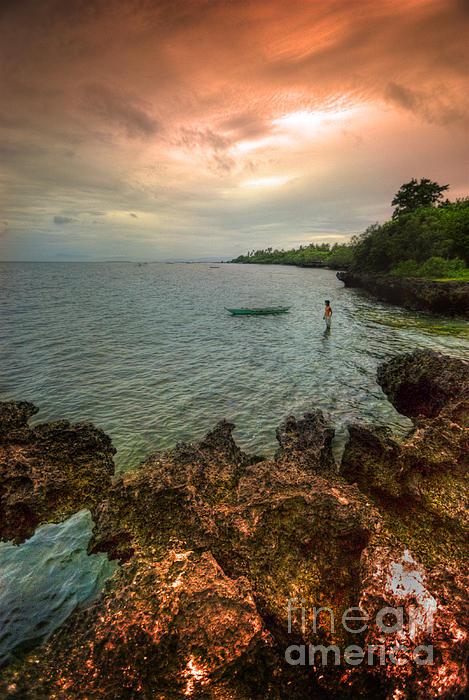 Bohol Photograph - Cast Away by Yhun Suarez