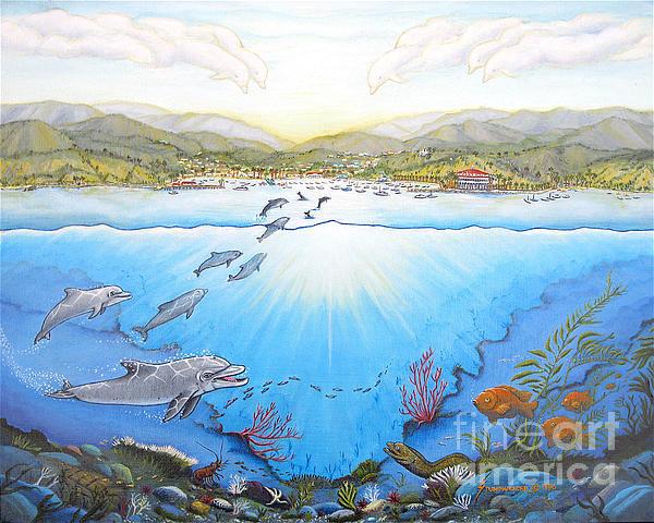 Catalina Island Painting - Catalina Island California by Jerome Stumphauzer