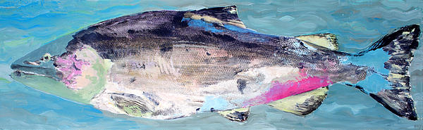Water Painting - Catch 5 by Lisa Baack