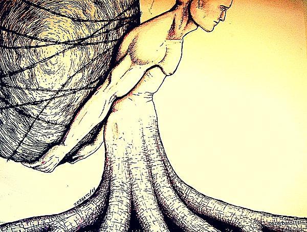 Irrational Digital Art - Central Beliefs Of Helplessness by Paulo Zerbato