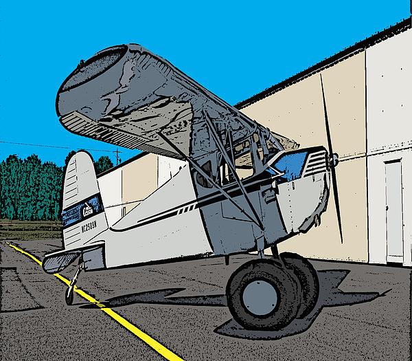 Cartoon Painting - Cessie by Steven Richardson