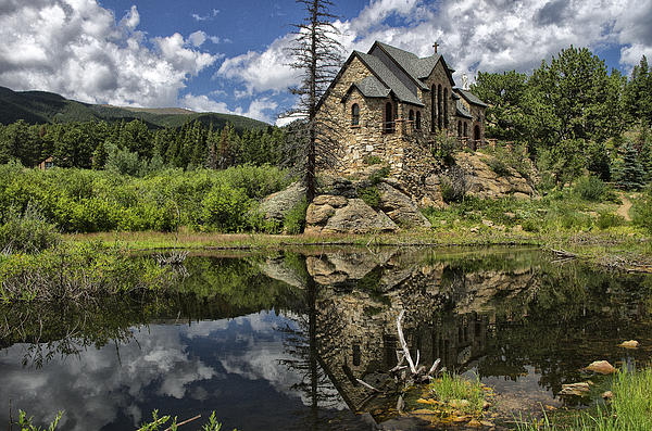 Chapel On The Rock Photograph by Michael Krahl