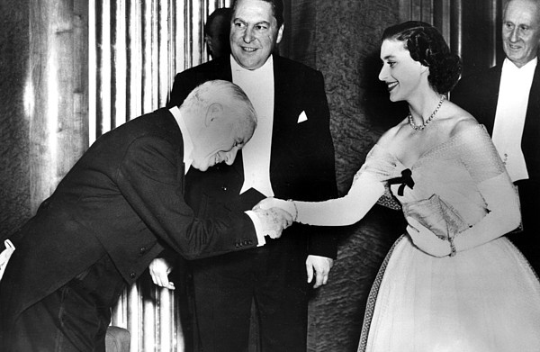 1950s Photograph - Charlie Chaplin Meeting Princess by Everett