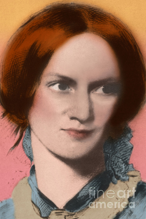 Author Photograph - Charlotte Bronte, English Author by Science Source