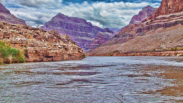 Water Photograph - Charting The  Mighty Colorado River by Douglas Barnard