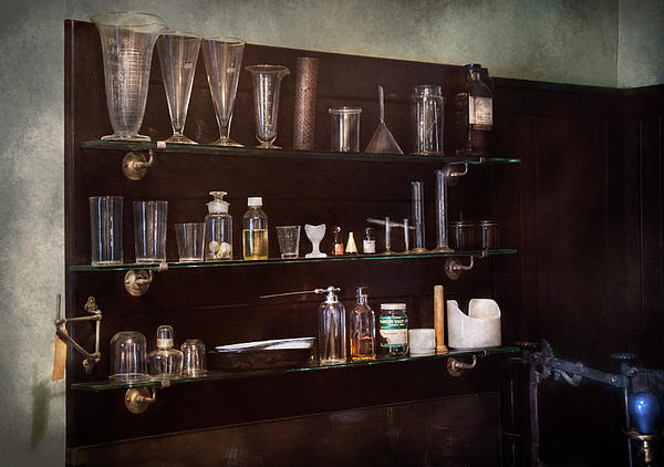 Hdr Photograph - Chemist - The Scientist  by Mike Savad