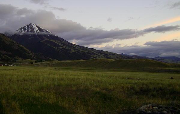 Chico Peak Photograph - Chico Peak by Glenda Brunette