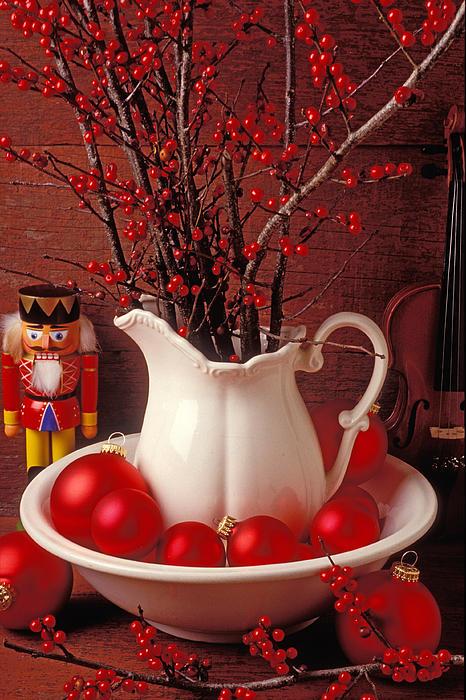 Christmas Photograph - Christmas Still Life by Garry Gay