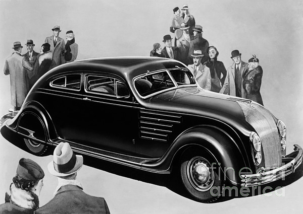 Chrysler Airflow Photograph - Chrysler Airflow by Photo Researchers