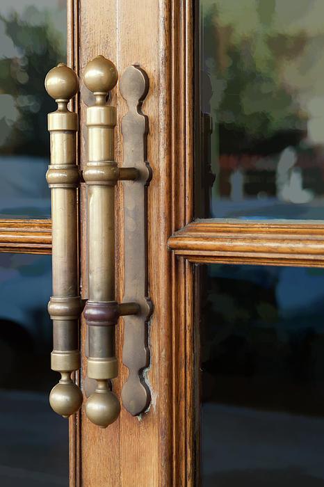 Cinema Door Photograph - Cinema Door by Michael Flood