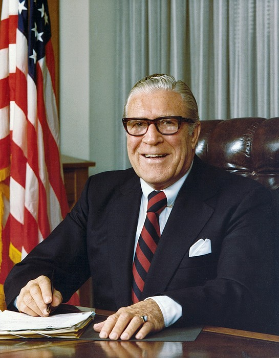 History Photograph - Clarence Kelley As Director Of The Fbi by Everett