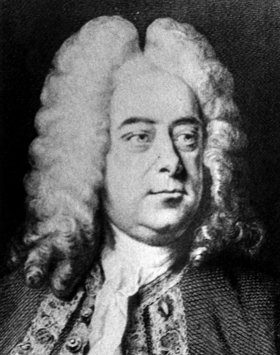 Classical Composer George Frideric Photograph by Everett