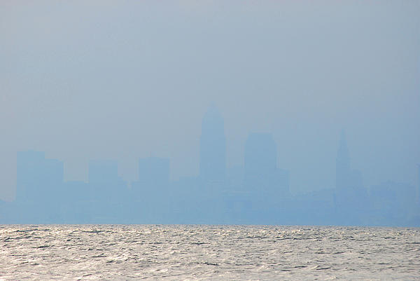 Cleveland Photograph - Cleveland Ohio by Peter  McIntosh