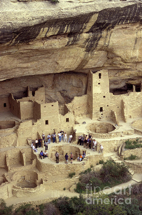 Mesa Verde Photograph - Cliff Palace Kiva Mesa Verde by John  Mitchell