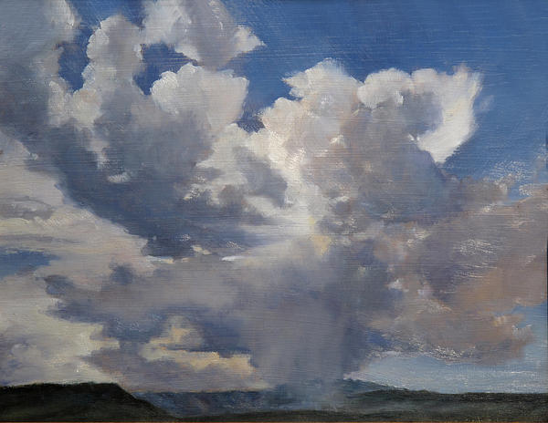 Cloudscape Painting by Victoria  Broyles